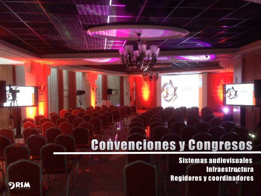 Convenciones y congresos