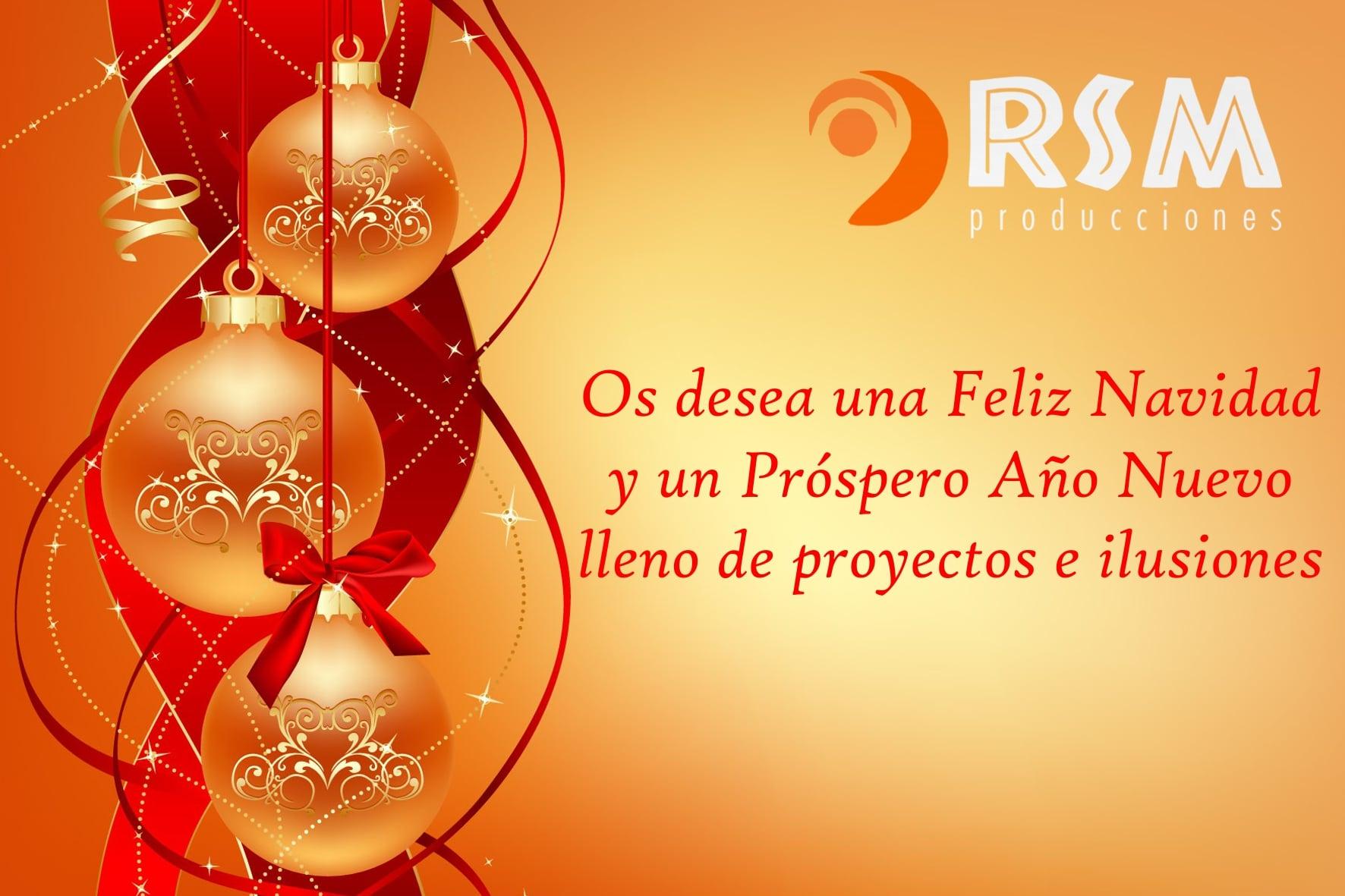 felicitación navidad rsm