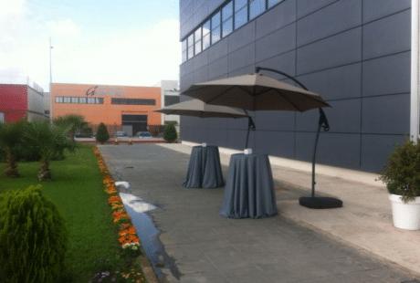 parasol excentrico