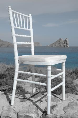 silla tiffany blanca RSM mar